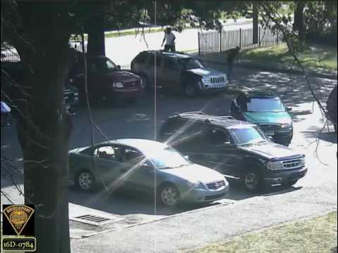 Bridgeport police have released this video of a shooting incident that occurred near Success Park on Sunday.