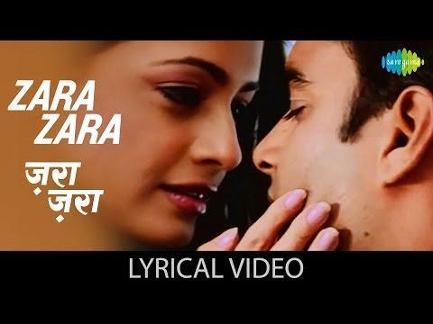 Zara Zara Lyrics Rehnaa Hai Terre Dil Mein (2001) | Bombay Jayashri