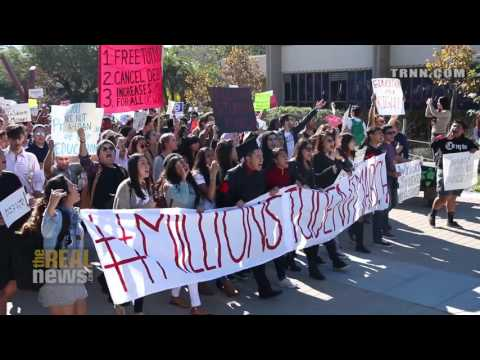 #MillionStudentMarch: Thousands Walkout Across The Country