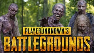 PUBG Custom Games Zombies Mode! High Fog Zombies Is SCARY!