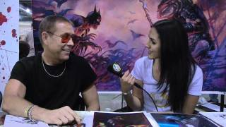 Philly Comic Con - The Zombie King Arthur Suydam (Marvel Zombies / Deadpool: Merc With A Mouth)