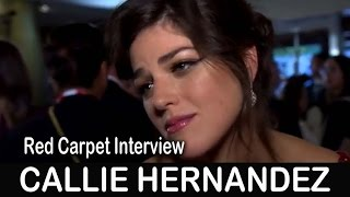 La La Land Movie Red Carpet: Callie Hernandez - TIFF 2016