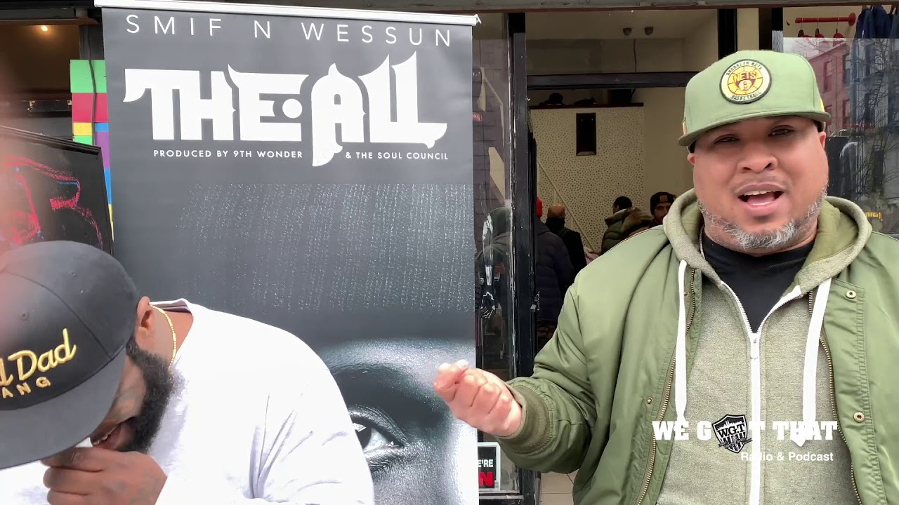 "Shice Catches up with Smif N Wessun for ""The All"""
