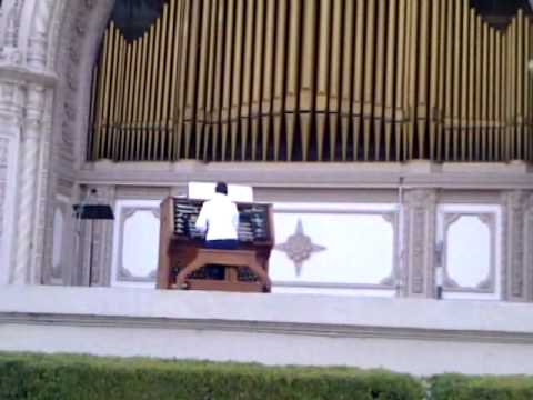 in dulci jubilo,  joy to the world  & Variations on Adeste Fidelis organ pavillion