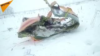 Russian An-148 Plane Crashes in Moscow Region
