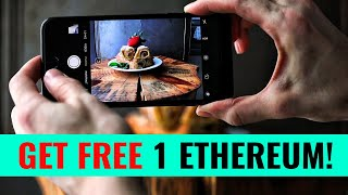 Earn FREE 1 Ethereum while taking photos! (WHATSAROUND)