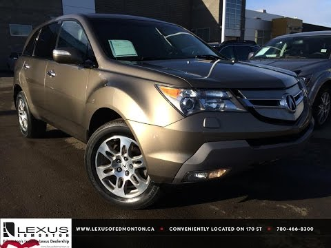 Used Brown 2009 Acura MDX AWD Review | Wetaskiwin Alberta