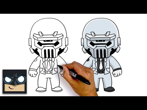 How To Draw Ghost Brutus | Fortnite