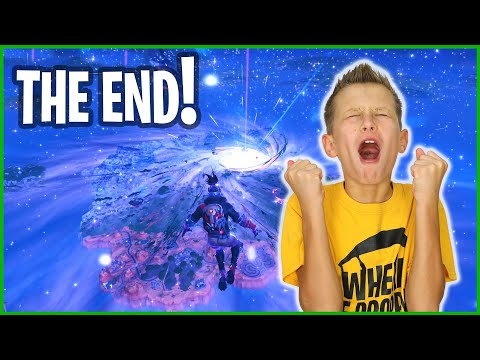 GOODBYE FORTNITE - THE END!