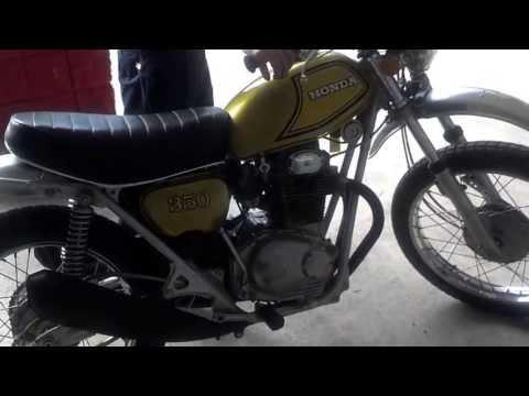 1972 Honda SL350 For Sale (Running Video) – Honda of Chattanooga Vintage Honda Motorcycles