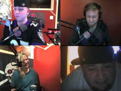 Mann Up Show | Radio host Chunky calls the show | 1-22-13