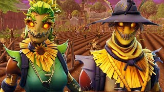 NEW LEAKED SCARECROW SKINS | NEW HALLOWEEN SKINS | HAYMAN AND STRAW OPS | Fortnite Battle Royale