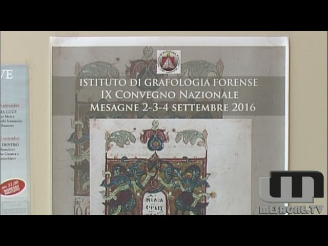 IX Convegno Nazionale dei Grafologi Forensi