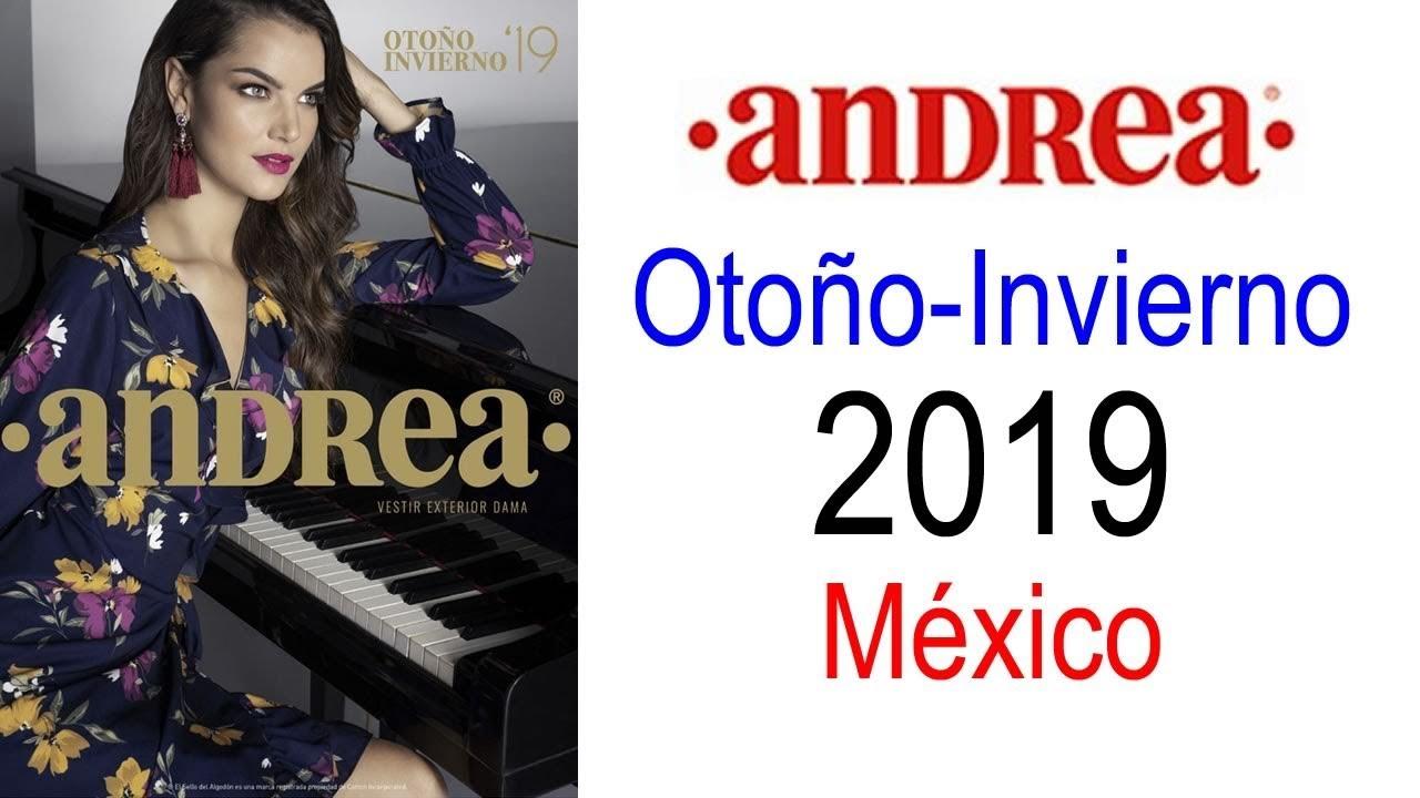 Catalogo Andrea Vestir Exterior Dama Otoño Invierno 2019