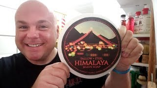 Himalaya Shave soap review by Tallow and Steel