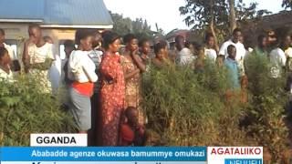 Abadde agenze okuwasa bamummye omukazi