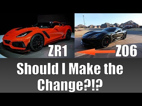 This is Going to be a Hard Decision| Is the ZR1 WORTH the Change?!?