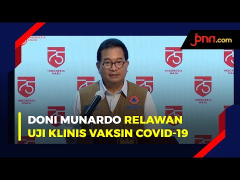 Prof Wiku: Ketua Satgas Doni Munardo, Daftar Relawan Vaksin Covid-19