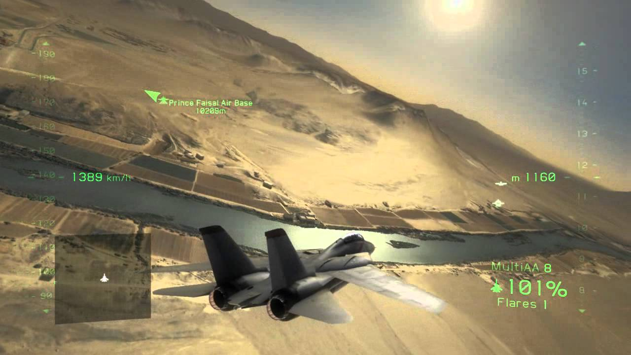 tom clancy's h.a.w.x. 2 f14 tomcat (hd) (plus sonic boom vapour ring