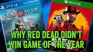 Why God Of War Beat Out Red Dead Redemption 2 for Game Of The Year | Red Dead Redemption 2 Review