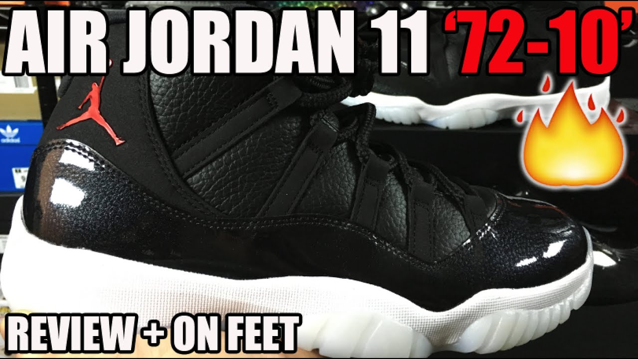 best service 31278 36cb6 Air Jordan 11 '72-10' Review + On Feet! (AJ XI Holiday 2015)