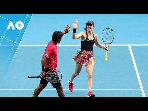 Dellacqua/Reid v Hingis/Paes match highlights (R2)  | Australian Open 2017