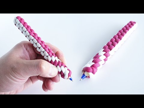 How to Make a Paracord Pen Tutorial