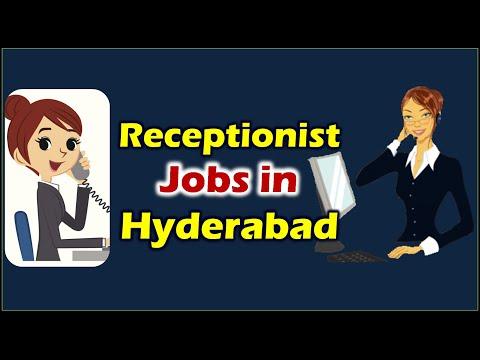 Latest Receptionist Jobs In Hyderabad || Hyderabad Job Vacancies
