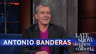 Antonio Banderas Can Play Picasso, But Can He Draw Like Him? by : The Late Show with Stephen Colbert