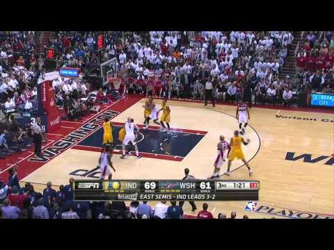 Indiana Pacers vs Washington Wizards Game 6 | May15, 2014 | NBA Playoffs 2014