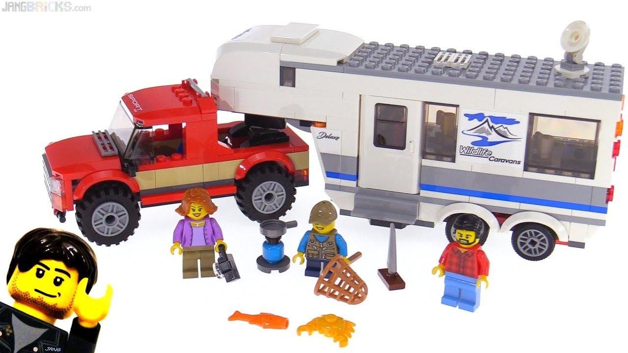 lego city 2018 pickup caravan review set 60182 youtube. Black Bedroom Furniture Sets. Home Design Ideas
