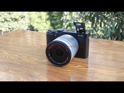 Fujifilm X-A1 Review: Almost at par with the X-M1