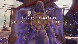 Destiny 2 Solstice of Heroes Event Trailer
