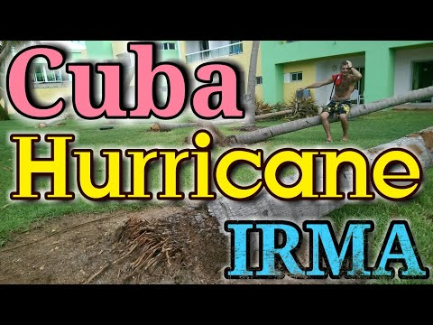 Cuba, Varadero, after hurricane IRMA. Hotel Palma Real 4*