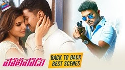 Policeodu Back To Back Best Scenes | Vijay | Samantha | 2019 Latest Telugu Movies | Vijay's Theri
