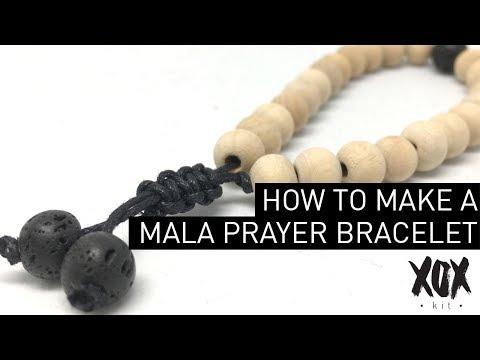 How to make a prayer bracelet