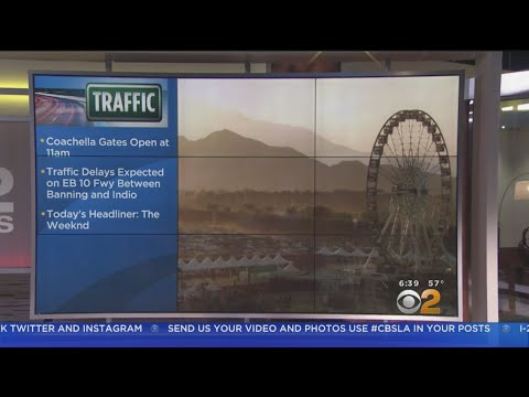 Coachella Music Festival Opens Today In Indio