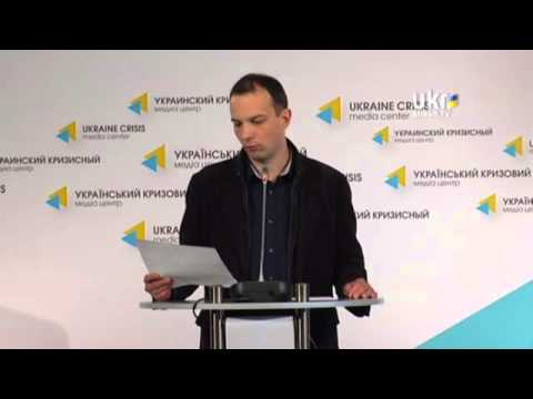 Egor Sobolev. Ukrainian Сrisis Media Center. April 24, 2014