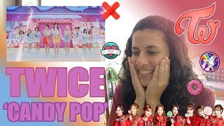 ANIME DE TWICE | REACCIÓN A TWICE 'CANDY POP' MV