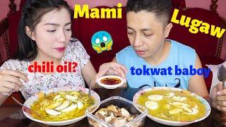 Lugaw + Mami + Tokwat Baboy Mukbang (Perfect sa Tag-Ulan)