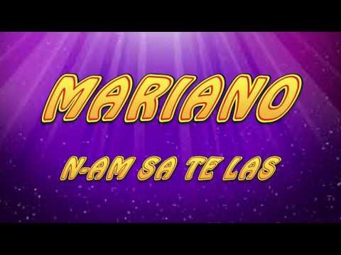 MARIANO - N-am sa te las 2017
