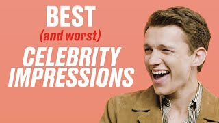 The Best (And Worst) Celebrity Impressions Of Other Celebs | LADbible