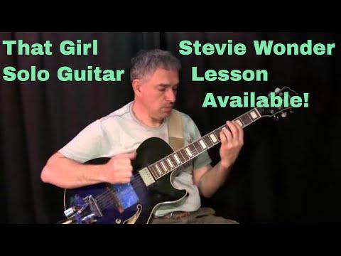 That Girl, Stevie Wonder, guitar cover, Jake Reichbart
