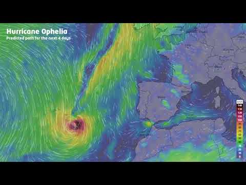 Hurricane Ophelia - Europe