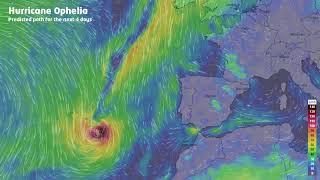 Hurricane Ophelia - Europe