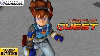Virtua Quest - Gamecube Gameplay 1080p (Dolphin GC/Wii Emulator)