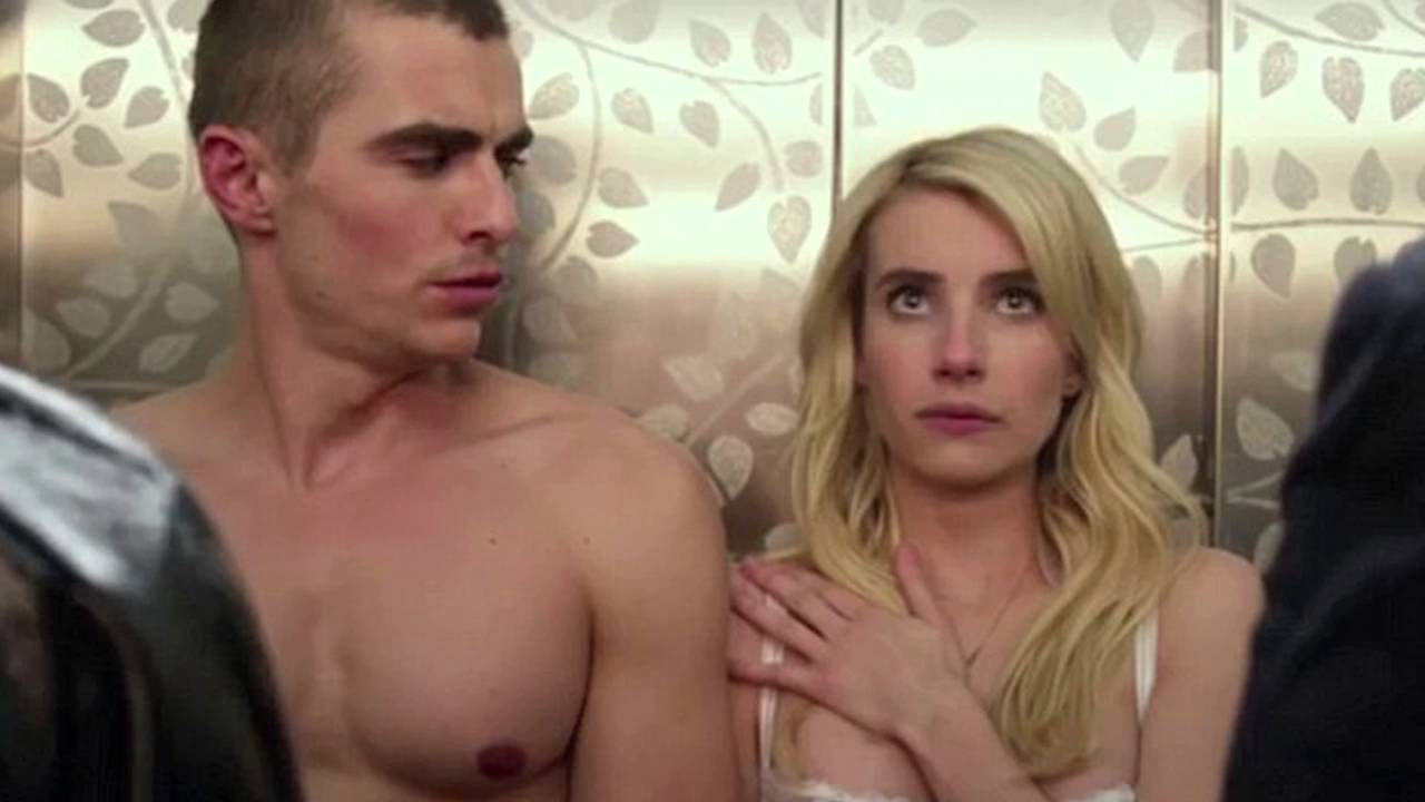 Emma Roberts Strips To Lingerie In Nerve Trailer 2016 Youtube