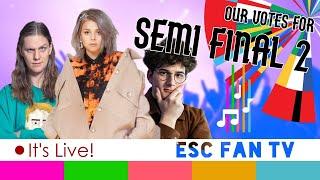 Eurovision 2020 Semi-final 2 LIVE VOTE | ESC2020 SF2 QUALIFIERS | LIVE SHOW
