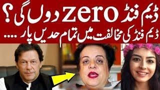 Shireen Mazari daughter dam fund