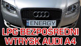 montaż lpg audi a4 z 2 0 200km tfsi 2005r w energy gaz polska na gaz brc sq sdi